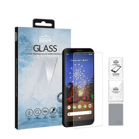 Eiger 2.5D Glass Screen Protector Google Pixel 4 - Clear