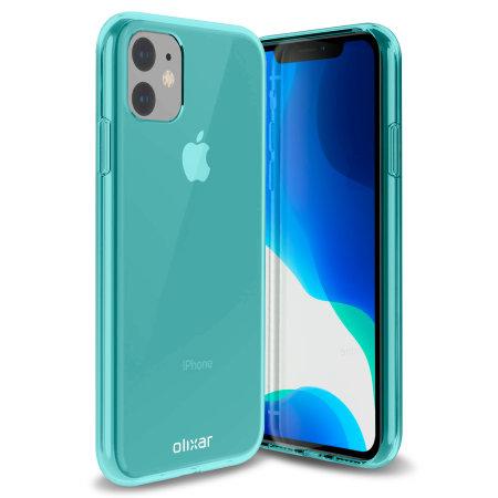 Funda iPhone 11 Olixar FlexiShield - Azul
