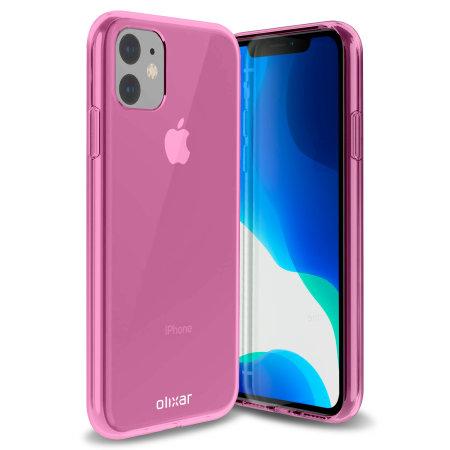 Olixar FlexiShield iPhone 11 Gel Case - Pink