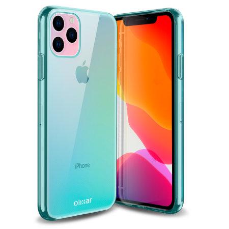 Olixar FlexiShield iPhone 11 Pro Max Gel Case - Blue