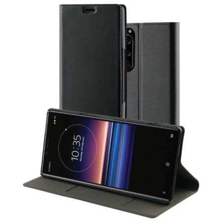 Roxfit Sony Xperia 5 Slim Standing Book Case - Black
