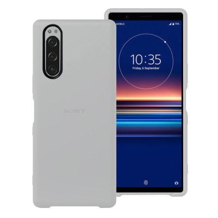 Official Sony Xperia 5 Back Cover Case - Grey