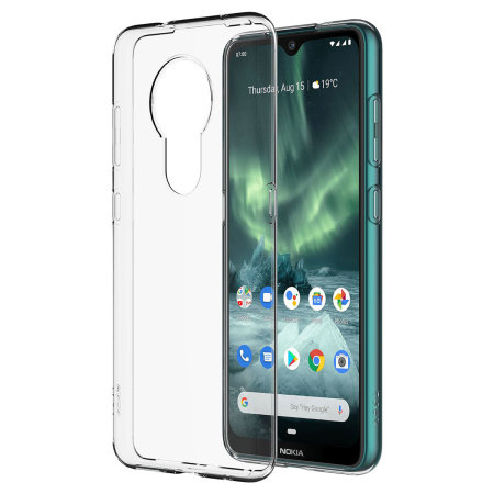 Official Nokia 7.2 Crystal Slim Cover Case - Clear