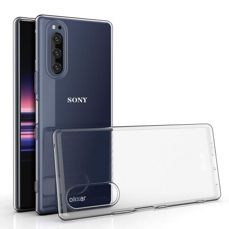 Olixar Ultra-Thin Sony Xperia 5 Case - 100% Clear