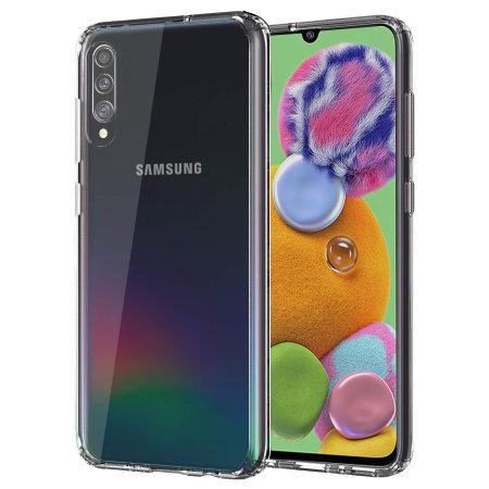 Olixar ExoShield Tough Snap-on Samsung Galaxy A90 5G Case - Clear