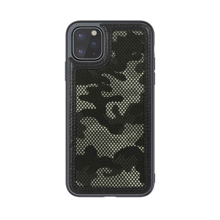 Nillkin Camo Cover iPhone 11 Pro Tough Cover Case - Black