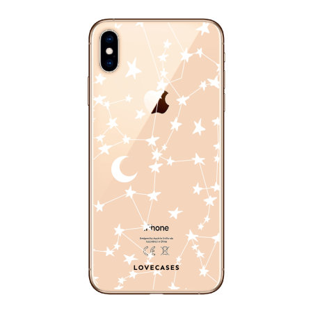 LoveCases iPhone XS Clear Starry Phone Case