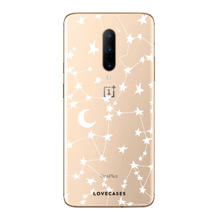 LoveCases One Plus 7 Pro Clear Starry Phone Case