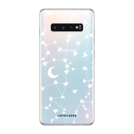 LoveCases Samsung S10 Starry Design Clear Phone Case