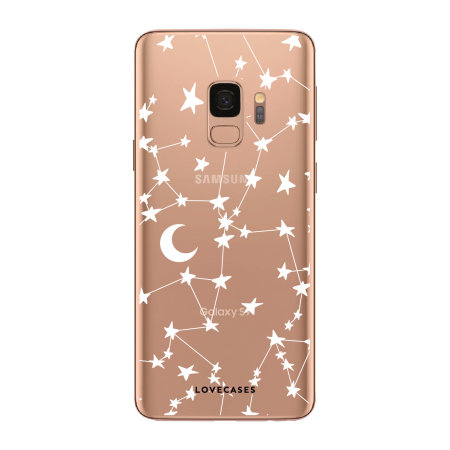 LoveCases Samsung S9 Plus Starry Design Clear Phone Case
