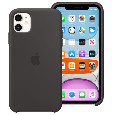Funda Oficial Apple Silicone Case para iPhone 11 - Negra