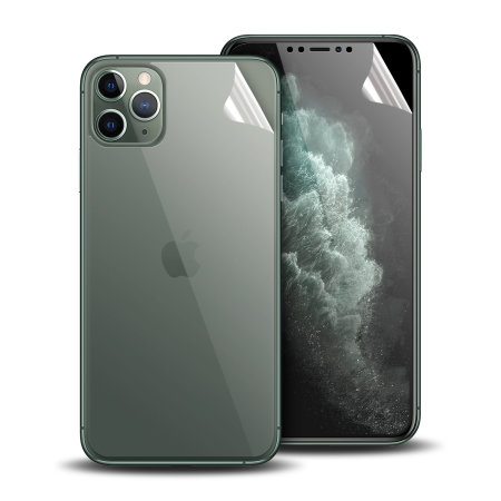 Olixar iPhone 11 Pro Front And Back Film Screen Protector