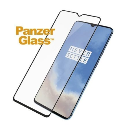 PanzerGlass Case Friendly OnePlus 7T Screen Protector - Black