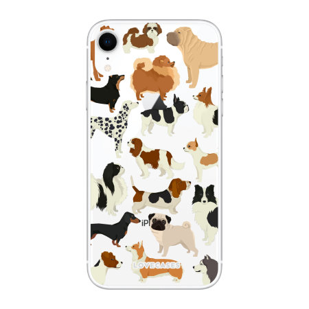 LoveCases iPhone XR Dogs Clear Phone Case