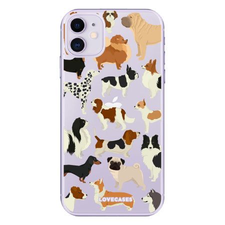 LoveCases iPhone 11 Dogs Clear Phone Case