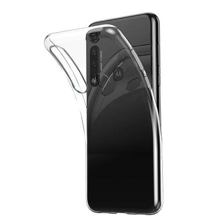 Olixar Ultra-Thin Motorola Moto G8 Plus Hoesje - Helder
