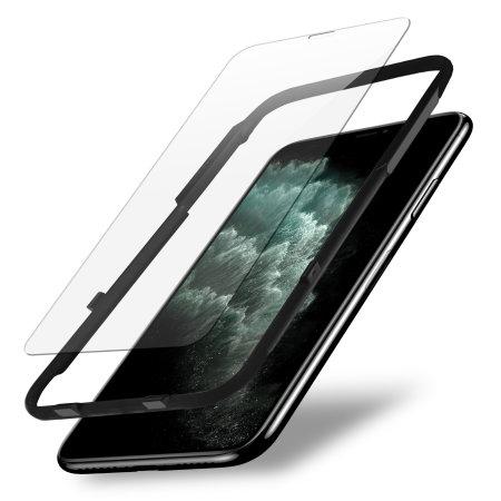 Protector Pantalla iPhone 11 Pro Olixar Cristal con Kit de Instalación