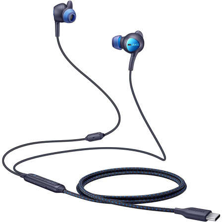 Official Samsung ANC USB-C Type-C Earphones For Galaxy A51 - Black