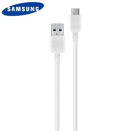 Official Samsung A71 USB-C Sync & Charge Cable - White (No Retail Box)