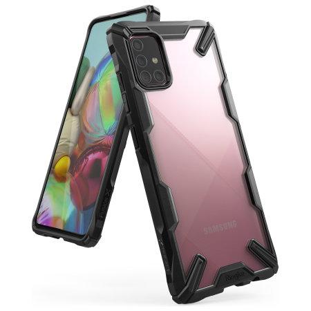 Ringke Fusion X Samsung Galaxy A71 Tough Case - Black