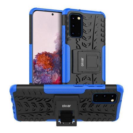 Olixar ArmourDillo Samsung Galaxy S20 Protective Case - Blue