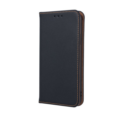 Olixar Slim Genuine Leather Samsung Galaxy A51 Wallet Case - Black