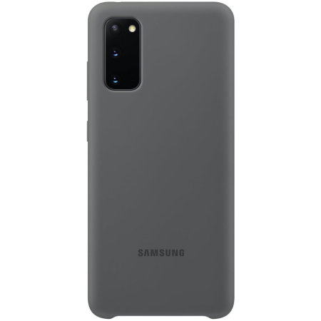 Official Samsung Galaxy S20 Silicone Cover Case - Grey