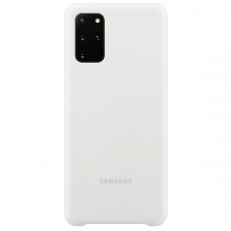 Official Samsung Galaxy S20 Plus Silicone Cover Case - White