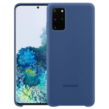 Official Samsung Galaxy S20 Plus Silicone Cover Case - Navy
