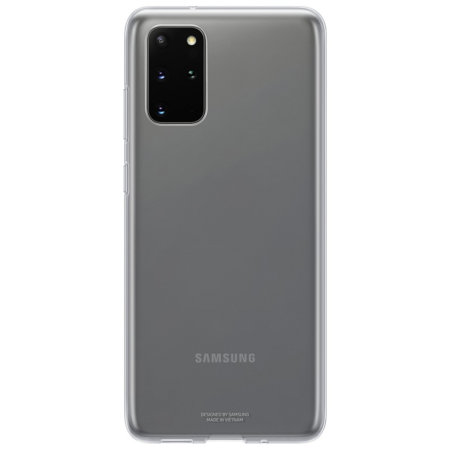 Official Samsung Galaxy S20 Plus Clear Cover Case - Transparent