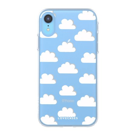 LoveCases iPhone XR Gel Case - Clouds