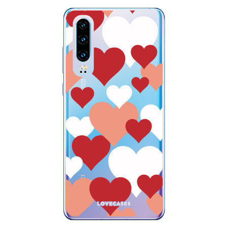 LoveCases Huawei P30 Love Heart Clear Phone Case