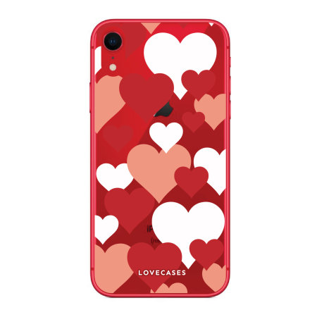 LoveCases iPhone XR Love Heart Clear Phone Case