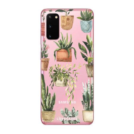LoveCases Samsung Galaxy S20 Gel Case - Plants