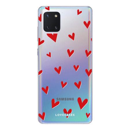 Coque Samsung Galaxy Note 10 Lite LoveCases Hearts / Cœurs