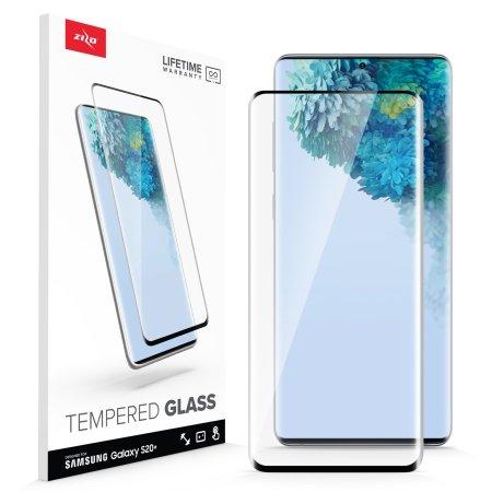 Zizo Samsung Galaxy S20 Plus Screenprotector Gehard glas Rand tot rand