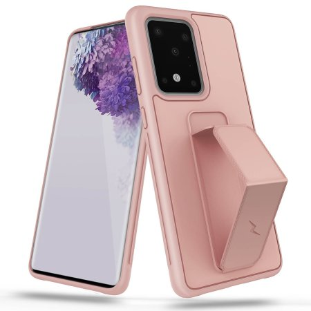 Zizo Grip Series Samsung S20 Ultra Tough Case - Coral Pink