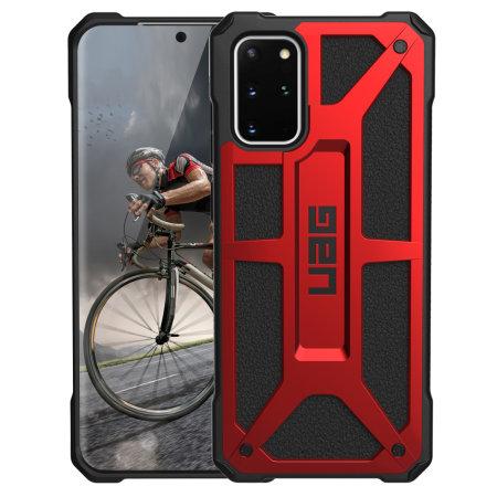 UAG Monarch Case for Samsung Galaxy S20 Plus - Crimson