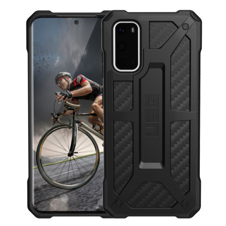 UAG Monarch Samsung Galaxy S20 Tough Case - Carbon Fiber