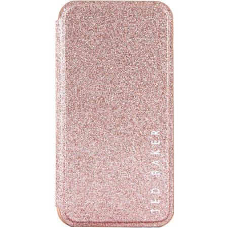 Ted Baker Folio Glitsie Samsung S20 Plus Flip Mirror Case - Pink