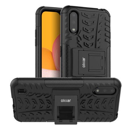 Olixar ArmourDillo Samsung Galaxy A01 Protective Case - Black