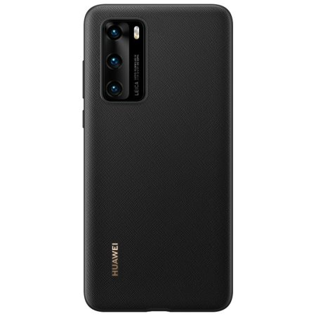 Official Huawei P40 Protective Back Cover Case - Black