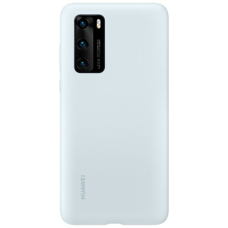 Official Huawei P40 Silicone Protective Case - Airy Blue