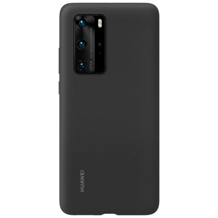 Official Huawei P40 Pro Silicone Protective Case - Black