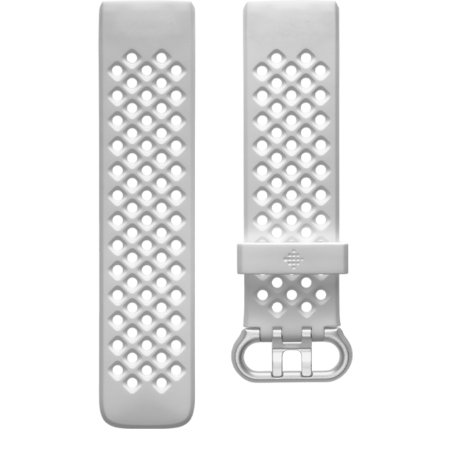 Fitbit Charge 4 Sport Band Strap - Large - Frost White