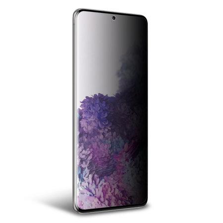 Olixar Samsung S20 Plus Privacy TPU Film Screen Protector 2-in-1 Pack