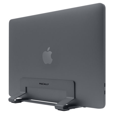 "Macally Universal Vertical Laptop Stand 13""-17"" - Space Grey"