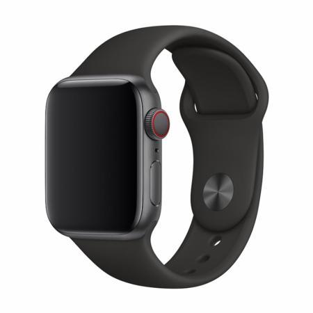 Devia Apple Watch 44mm / 42mm Strap Deluxe Sport - Black