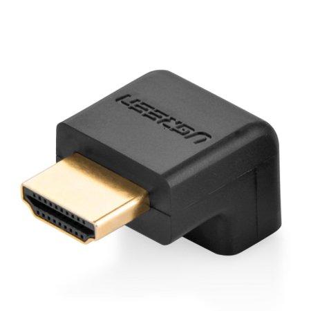 UGREEN 90° Down Angle 4K HDMI Adapter - Black