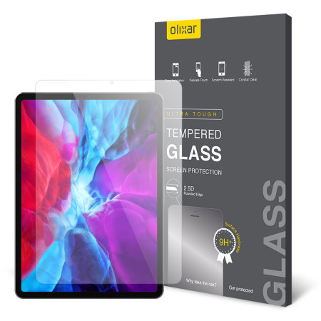 "Olixar iPad Pro 12.9"" 2020 Tempered Glass Screen Protector"